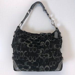 Coach | Black Carly large hobo bag purse rare